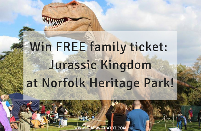 Jurassic Kingdom at Norfolk Heritage Park