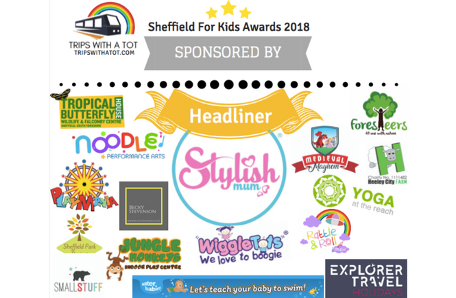 Sheffield For Kids Awards 2018 Sponsors