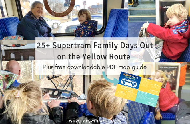 Discover 25+ Family Days Out On The Sheffield Supertram Yellow Route
