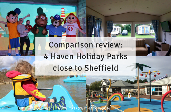 Comparison Review: 4 Haven Holiday Parks near Sheffield