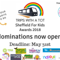 Sheffield For Kids Awards 2018 Nominations Open
