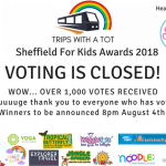 Sheffield For Kids Awards 2018 – Voting CLOSED!