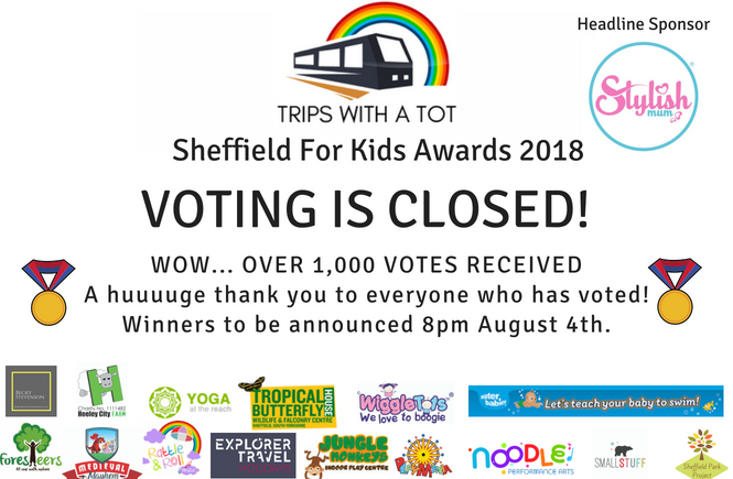 Sheffield For Kids Awards 2018 - Voting Open!