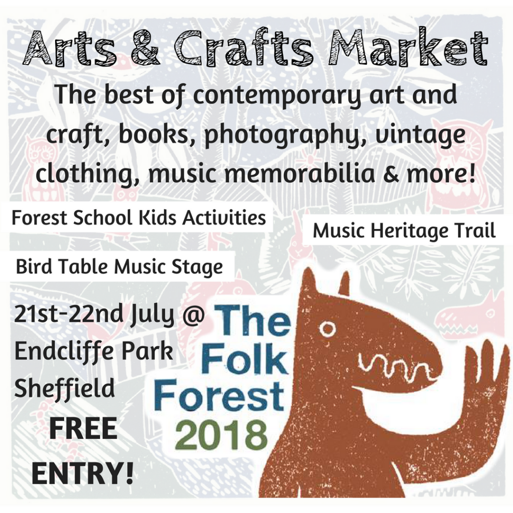 the folk forest tram lines market What's on this weekend in and around Sheffield for kids July 21/22