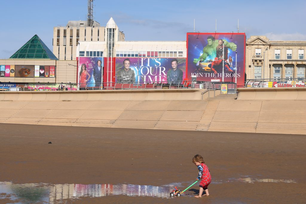 Blackpool Top 4 Favourite Beaches near Sheffield