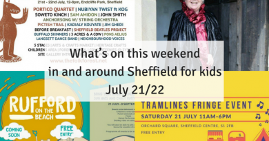 What's on this weekend in and around Sheffield for kids July 21/22
