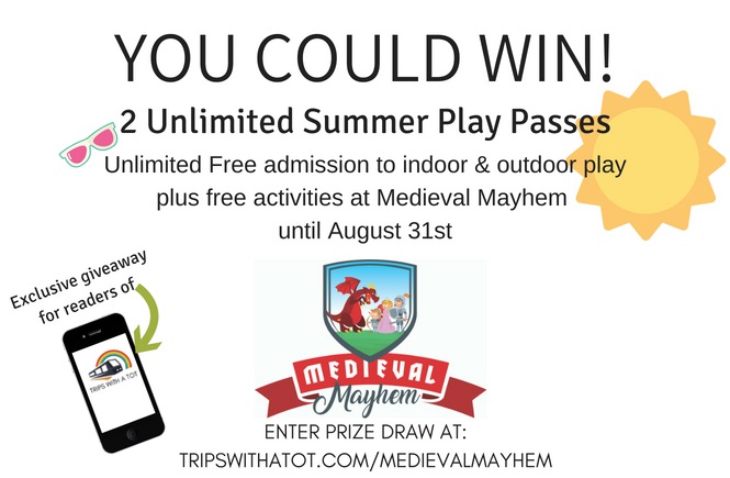 WIN Free Unlimited Summer Play Pass for Medieval Mayhem