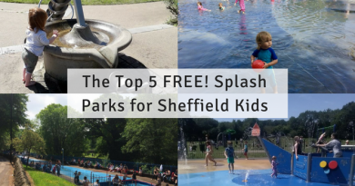 Top 5 FREE Splash Parks for Sheffield Kids