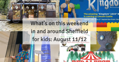 What's on this weekend in and around Sheffield for kids August 11/12