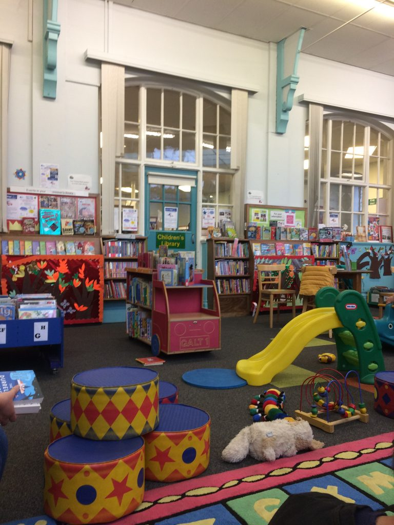 Lovely Childrens Library: Walkley Library, S6 3TD