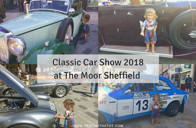 Classic Car Show 2018 Moor Sheffield