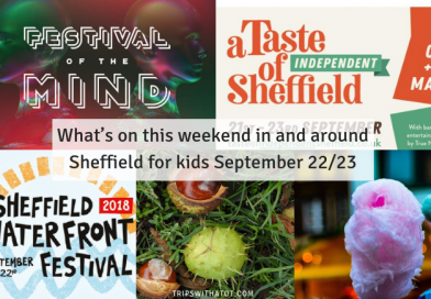 What's on this weekend in and around Sheffield for kids September 22/23