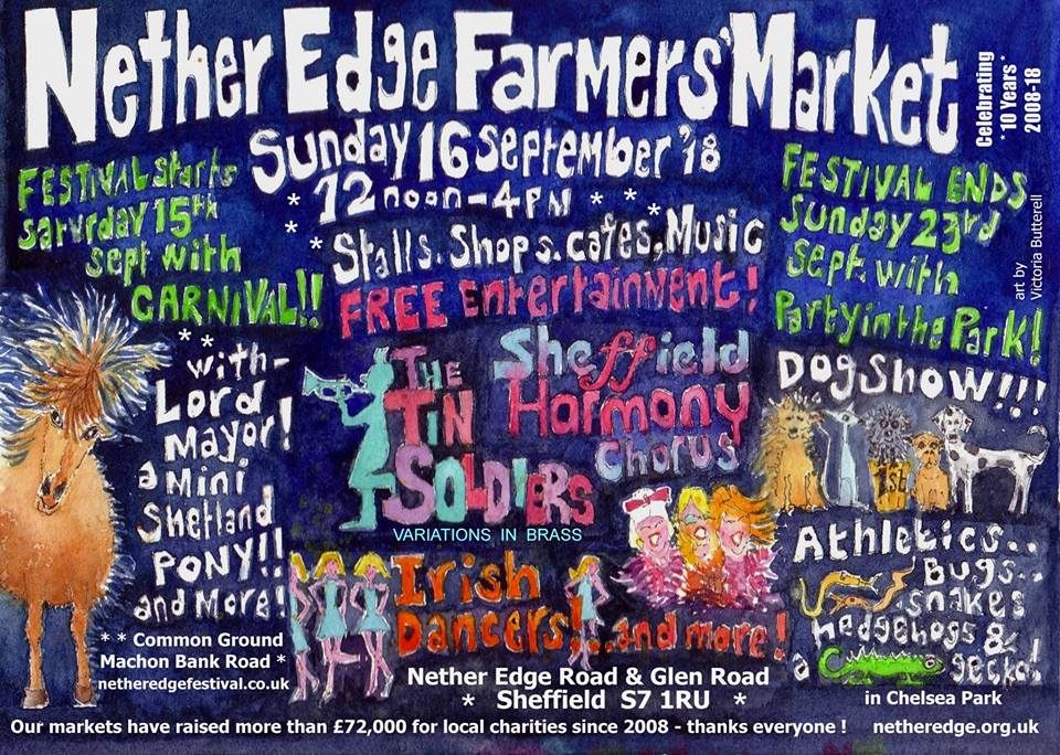 nether edge farmers market What's on this weekend in and around Sheffield for kids September 15/16