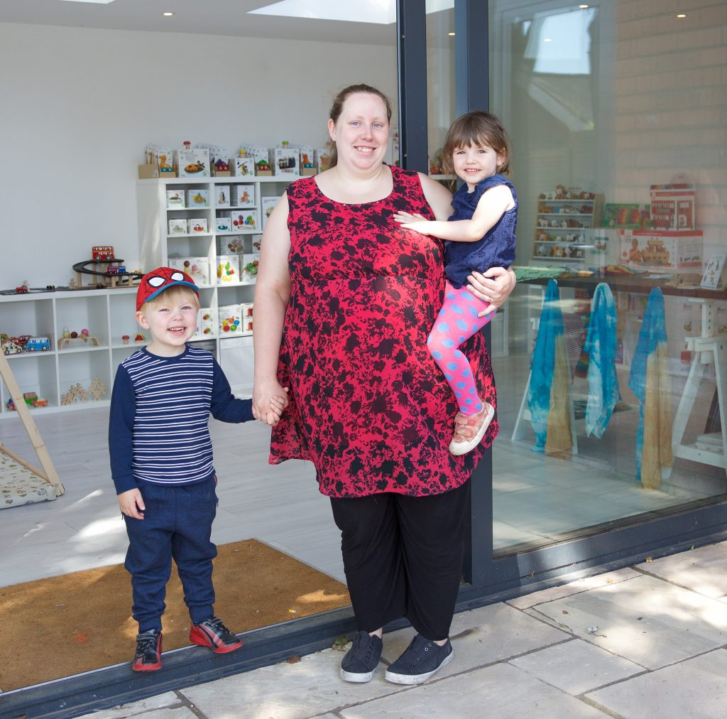 All About Imagination Grows: Wooden Toy Shop Specialist