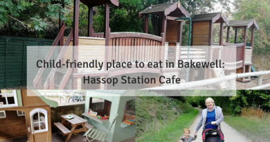 Child-friendly place to eat: Hassop Station Cafe, Bakewell