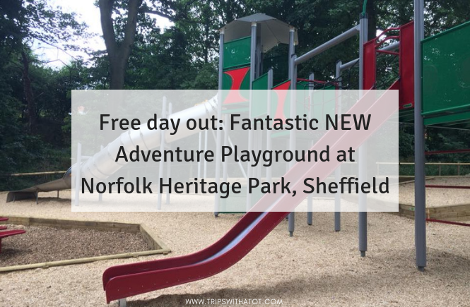 Fantastic Adventure Playground at Norfolk Heritage Park, Sheffield