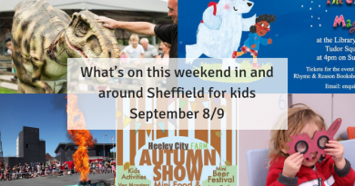 What's on this weekend in and around Sheffield for kids September 8/9