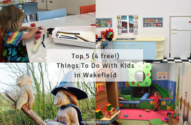 Top 5 (4 free!) Things To Do With Kids in Wakefield