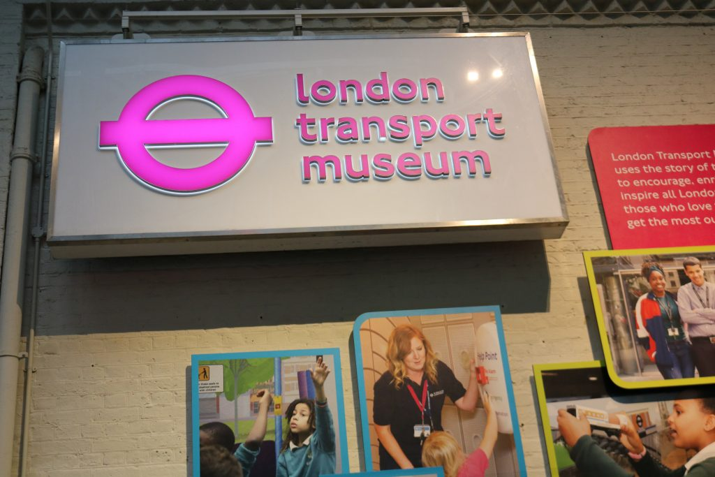 Things To Do In London with a toddler - London Transport Museum