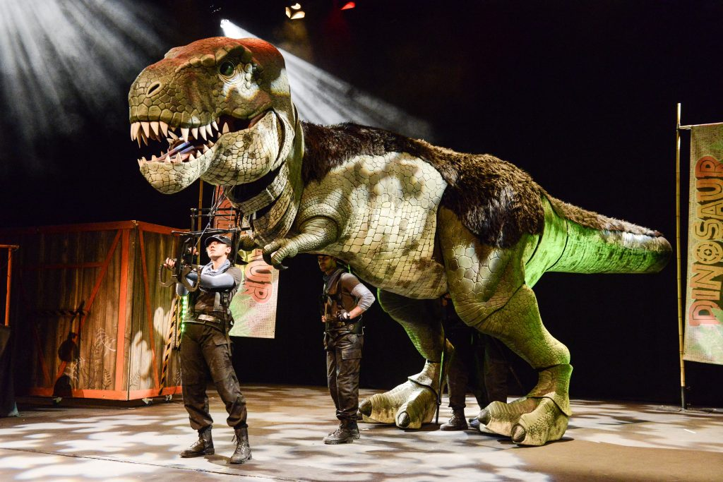 Win a Family ticket to Dinosaur World Live at Sheffield City Hall