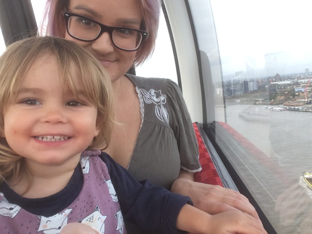 Things To Do In London with a toddler - Emirates Airline Cable Car