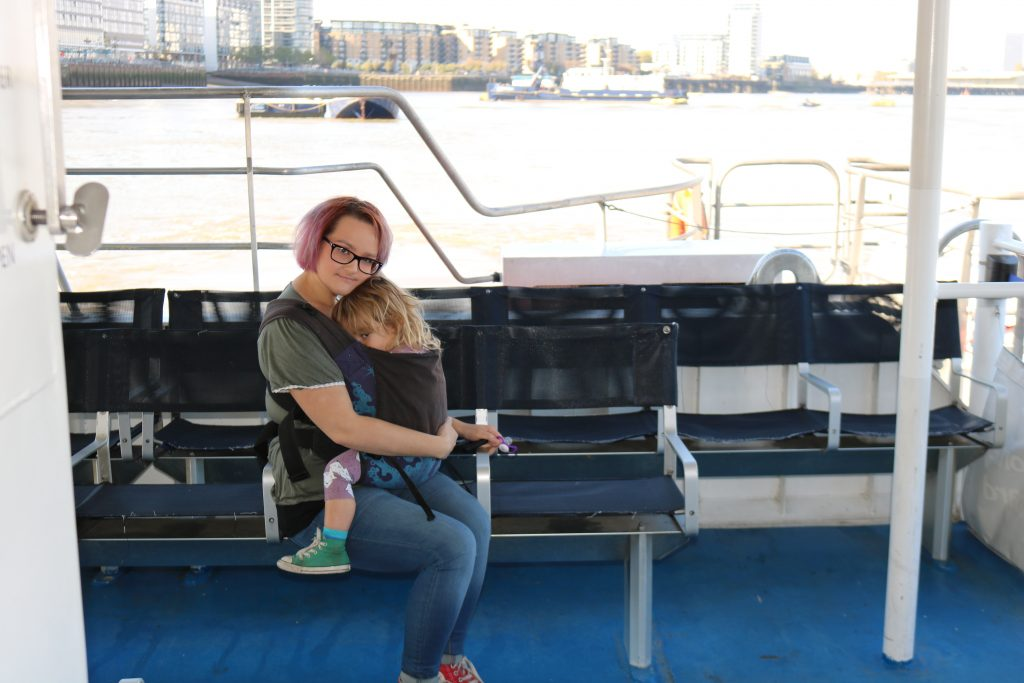Things To Do In London with a toddler - River Boat
