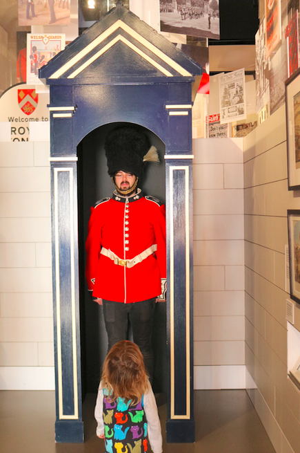 Things To Do In London with a toddler - National Army Museum