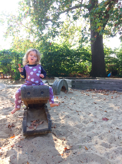 Things To Do In London with a toddler - Princess Diana Memorial Playground