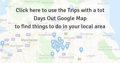 Trips With a Tot Find Days Out Map
