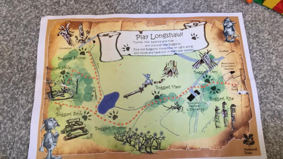 Longshaw Estate nature play and Boggart trail: Free things to do in Sheffield with kids
