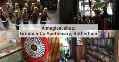 A magical shop: Grimm & Co Apothecary, Rotherham