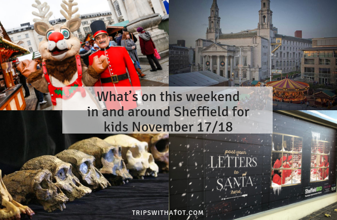 What's on this weekend in and around Sheffield for kids November 17/18