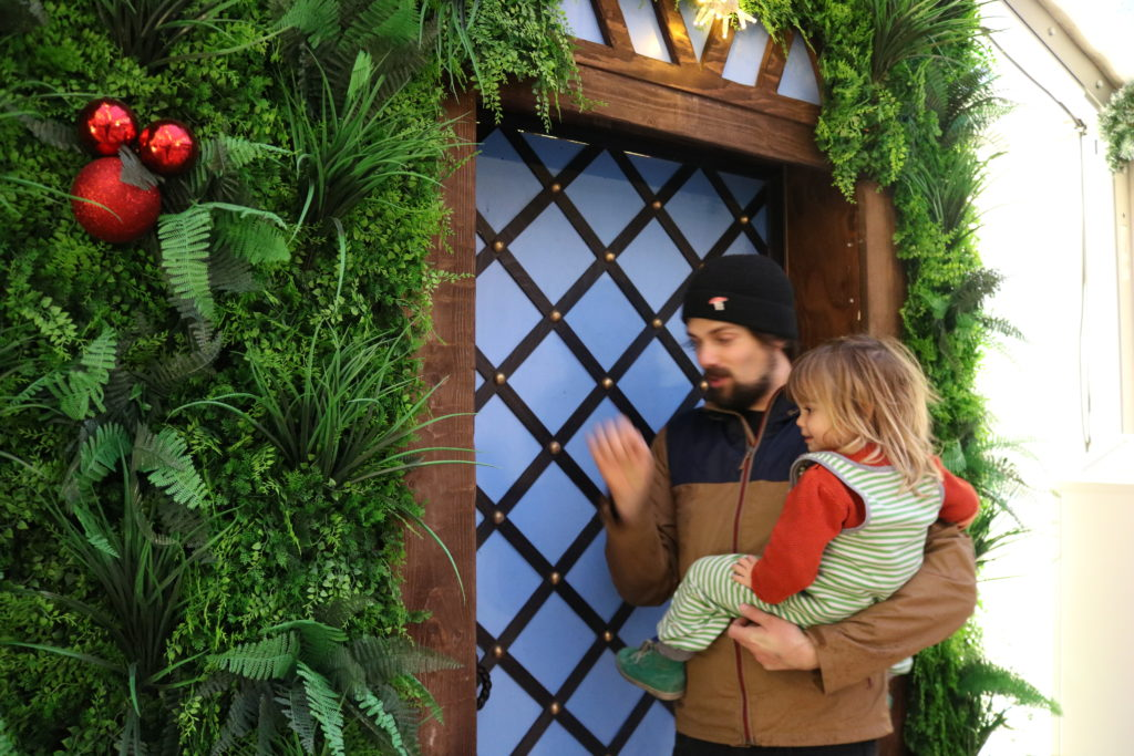 Review: Peter Rabbit's santas grotto at Trafford Centre, Manchester