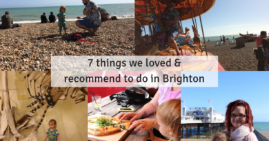 Highlights from our family trip to Brighton