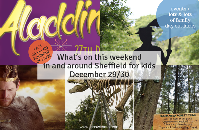 What's on this weekend in and around Sheffield for kids December 29/30