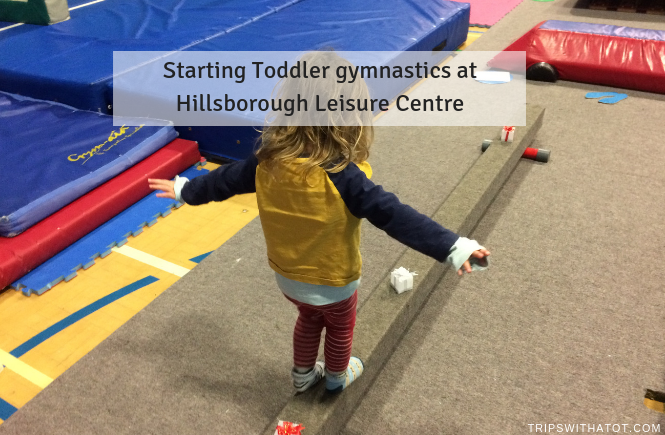 Toddler gymnastics at Hillsborough Leisure Centre