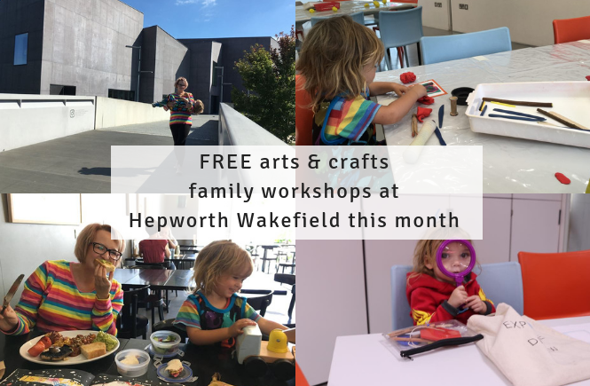 Don't miss these FREE activities at Hepworth Wakefield in December