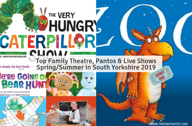 Top Family Theatre, Panto & Live Shows Spring/Summer 2019