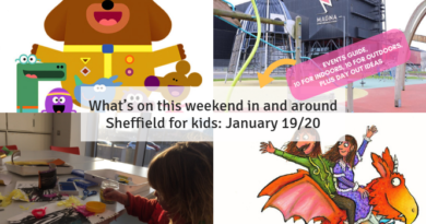What's on this weekend in and around Sheffield for kids January 19/20