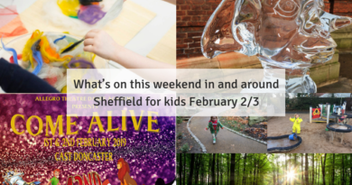 What's on this weekend in and around Sheffield for kids February 2/3