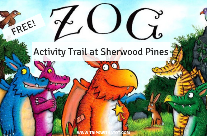FREE Zog Trail at Sherwood Pines Top 10 outdoor days out for Sheffield families