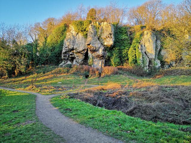 family day out at Creswell Crags