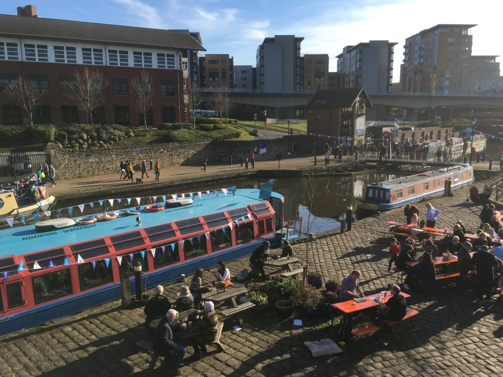 sheffield canal basin Victoria quays