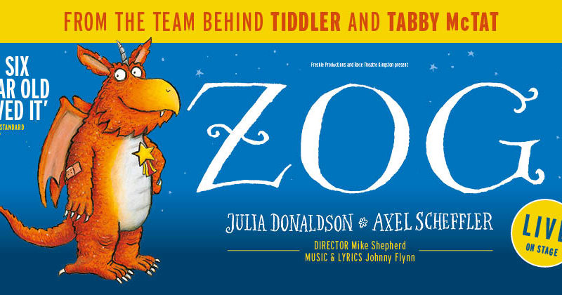 First look at ZOG Live On Stage at Sheffield City Hall 2019