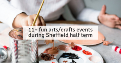 11+ fun arts/crafts events during Sheffield half term