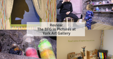 Review: The BFG in Pictures at York Art Gallery