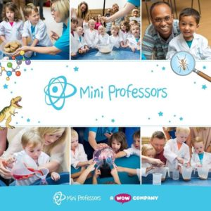 Mini Professors: Fun Science toddler classes in Sheffield