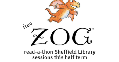 FREE Zog read-a-thon Sheffield Library sessions this half term