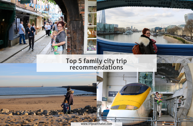 Top 5 family city trip recommendations from Sheffield