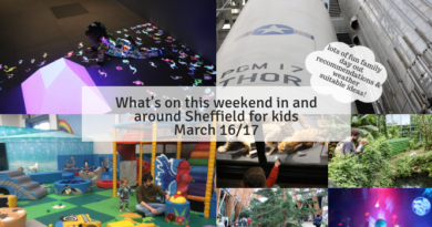 What's on this weekend in and around Sheffield for kids March 16/17